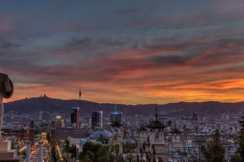 Barcelona evening