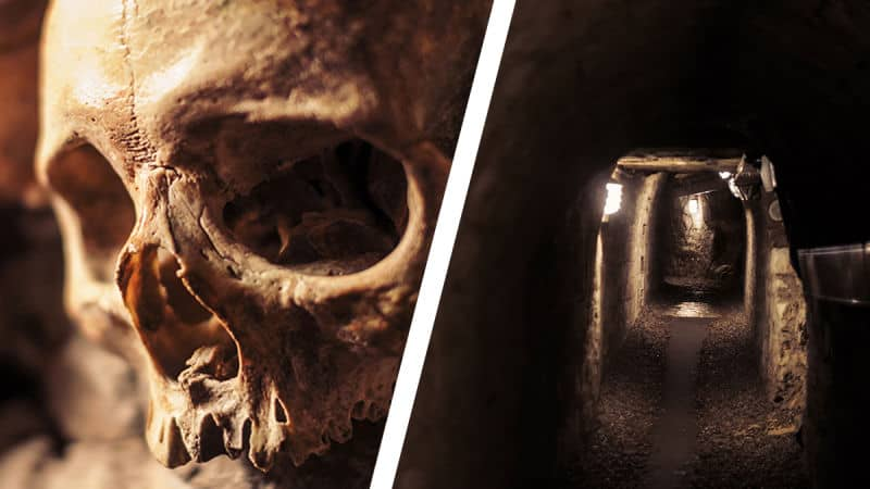 Virtual Tour: Paris' Catacombs